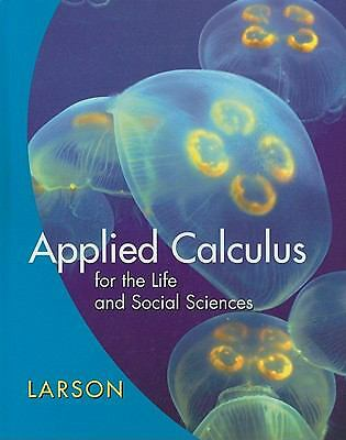 Applied Calculus for the Life and Social Sciences, Larson, Ron, Good Book