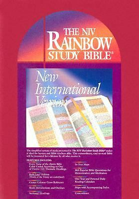 Rainbow Study Bible-NIV, , Very Good Book