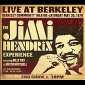 Jimi Hendrix: Live At Berkeley, Hendrix, Jimi, Good Original recording remastere