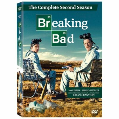 Breaking Bad: The Complete Second Season, Good DVD, Bryan Cranston, Aaron Paul,