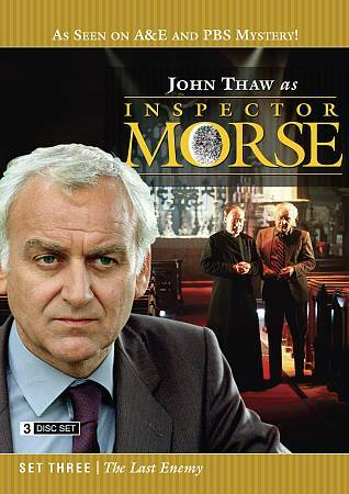 Inspector Morse Set Three: The Last Enemy, Good DVD, Kevin Whatley, John Thaw, J