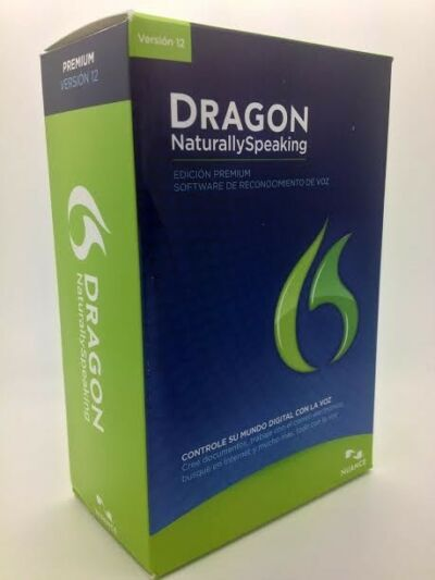 NEW Nuance Dragon Naturally Speaking 12 Premium SPANISH and ENGLISH Full Retail