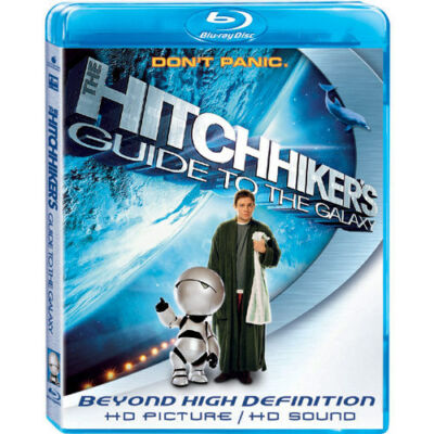 The Hitchhiker's Guide to the Galaxy [Blu-ray], Good DVD, Sam Rockwell, Alan Ric