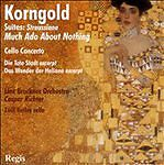 Korngold: Straussiana; Much Ado About Nothing; Cello Concerto; Etc., Linz Bruckn