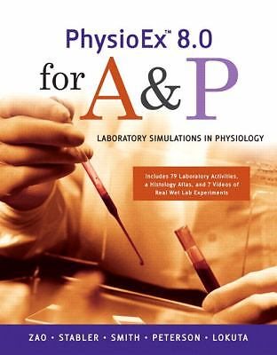 PhysioEx 8.0 for A&P: Laboratory Simulations in Physiology, Lokuta, Andrew, Pete