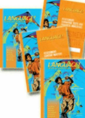 Language! The Comprehensive Literacy Curriculum (3RD Edition Student Set Book B)
