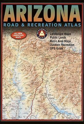Benchmark Arizona Road & Recreation Atlas. Fifth Edition, Benchmark Maps, Good B