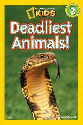 National Geographic Readers: Deadliest Animals - Stewart, Melissa - New Conditio