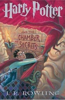 Harry Potter and the Chamber of Secrets 2 by J. K. Rowling (1999, Hardcover)
