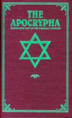 The Apocrypha: Translated out of the Original Tongues - Translation only - Very