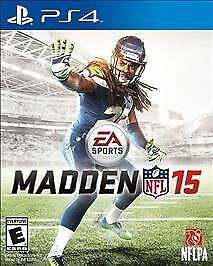 Madden NFL 15  (Sony PlayStation 4, 2014) PS4 New