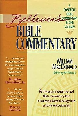 Believer's Bible Commentary, William MacDonald, Good Book