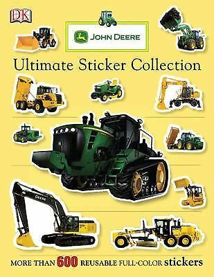 John Deere: Ultimate Sticker Collection (ULTIMATE STICKER COLLECTIONS) by DK Pu