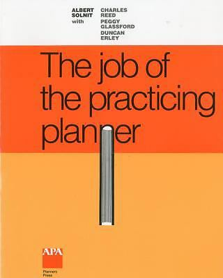 Job of the Practicing Planner, Albert Solnit, Good Book
