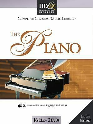 Classical Music Library: The Piano, , Excellent