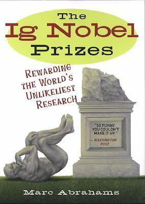 The Ig Nobel Prizes, Abrahams, Marc, Good Book