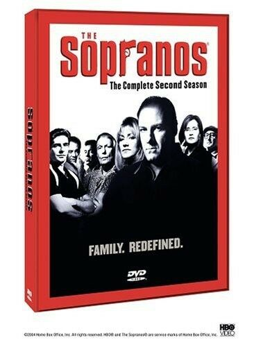 The Sopranos - The Complete Second Season 2 (DVD, 2001, 4-Disc Set)