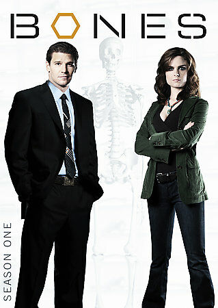 Bones: The Complete First Season, Excellent DVD, J Thyne, Eric Millegan, Michael