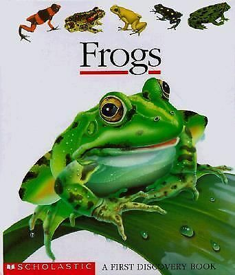 Frogs (First Discovery Books) by Scholastic Books, Jeunesse, Gallimard