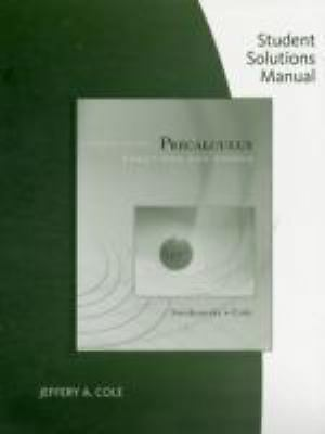 S. S. M. Precalculus : Functions and Graphs by Jeffery Cole, Matt Cole and Earl