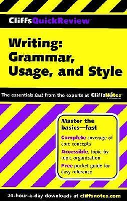 Writing : Grammar, Usage, and Style by Jean Eggenschwiler and Emily Dotson Biggs