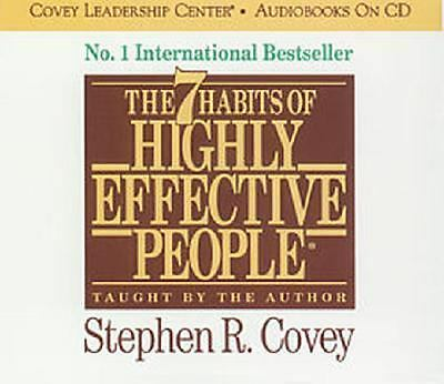 Steven Covey - Seven Habits Of Highly Effective People - 3 Compact Discs