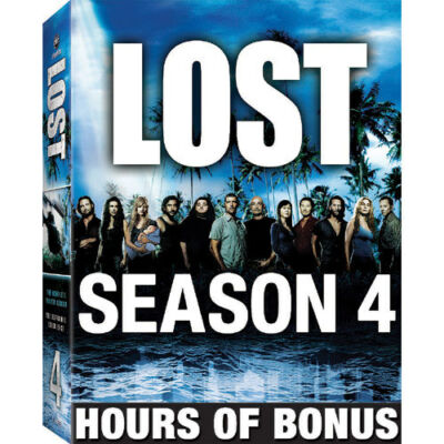 Lost: Season 4 - The Expanded Experience, Excellent DVD, Dominic Monaghan, Emili