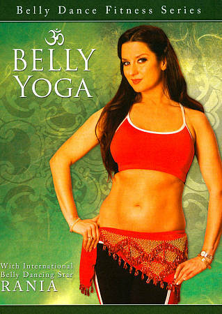 Belly Yoga, Very Good DVD, Rania,