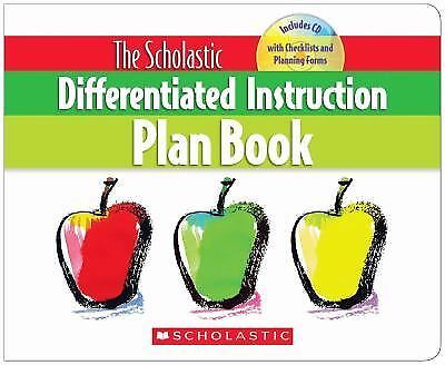The Scholastic Differentiated Instruction Plan Book, Middendorf, Cindy, Good Boo