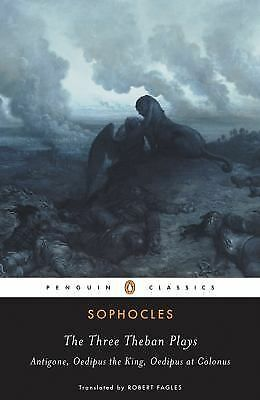 The Three Theban Plays (Penguin Classics), Sophocles, Good Book