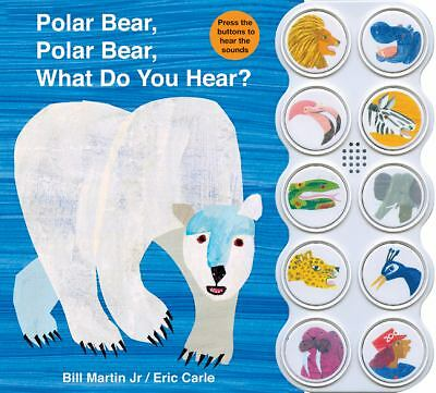 Polar Bear, Polar Bear What Do You Hear? sound book - Martin, Bill - New Conditi