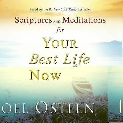 Scriptures and Meditations for Your Best Life Now - Joel Osteen - Good Condition