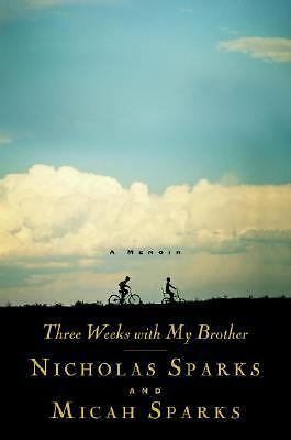 Three Weeks with My Brother - Nicholas Sparks, Micah Sparks - Good Condition