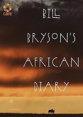 Bill Bryson's African Diary - Bryson, Bill - Good Condition