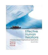 Effective Human Relations: Interpersonal and Organizational Applications, Barry