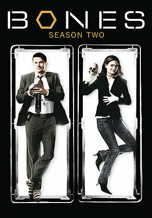 Bones: Season 2, Excellent DVD, Emily Deschanel,