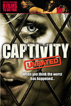 Captivity (Unrated Widescreen Edition), Excellent DVD, Elisha Cuthbert,