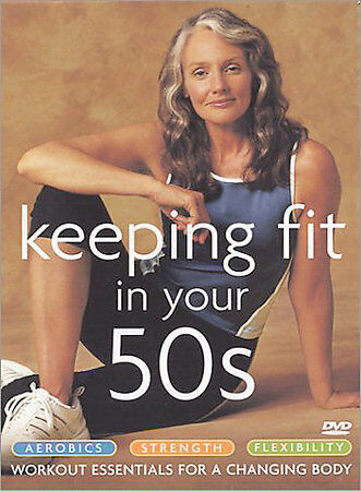 Keeping Fit in Your 50s 3-Pack (Aerobics / Strength / Flexibility), Good DVD, Ro