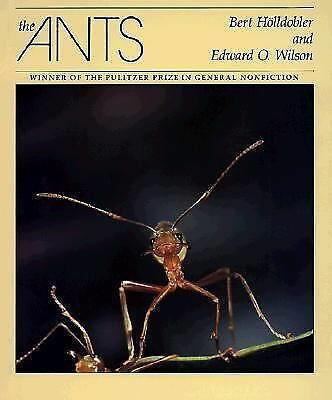 The Ants, Edward O. Wilson, Bert Holldobler, Good Book