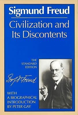 Civilization and Its Discontents - Sigmund Freud, Peter Gay - Good Condition
