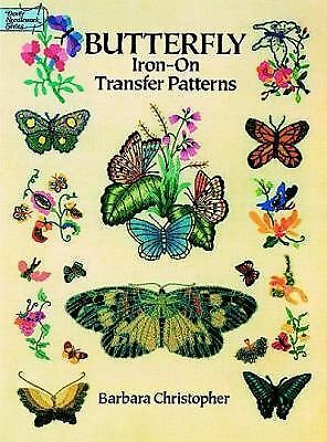 Butterfly Iron-on Transfer Patterns (Dover Iron-On Transfer Patterns) - Christop