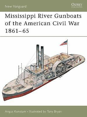 Mississippi River Gunboats of the American Civil War 1861-65 (New Vanguard), Kon