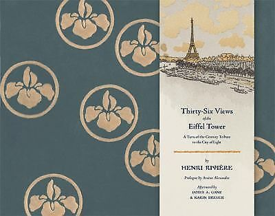 Thirty-Six Views of the Eiffel Tower, Riviere, Henri, Good Book