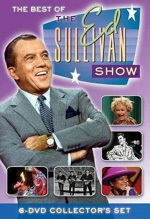 The Best of the Ed Sullivan Show (6DVD), Good DVD, Ed Sullivan, Time Life