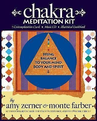Chakra Meditation Kit: Bring Balance to Your Mind, Body and Spirit (Book, Cards,