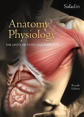 Anatomy & Physiology: The Unity of Form and Function, Saladin,Kenneth, Accep