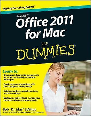 Office 2011 for Mac For Dummies - LeVitus, Bob - Good Condition