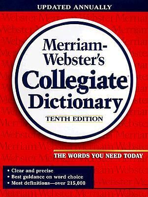 Merriam-Webster's Collegiate Dictionary (Merriam Webster's Collegiate Dictionary