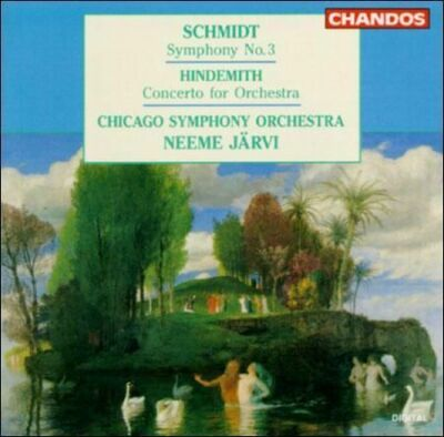 Schmidt: Symphony No. 3 / Hindemith Concerto for Orchestra, , Very Good