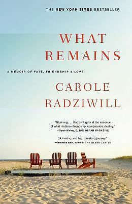 What Remains: A Memoir of Fate, Friendship, and Love - Radziwill, Carole - Accep